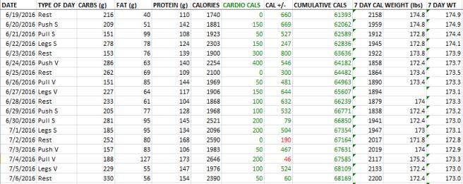 7-7-16 fitness log